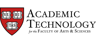 Academic Technology for the Faculty of Arts and Sciences
